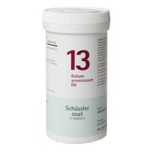 Schüssler salze Pflüger nr 13 Kalium arsenicosum D6 400 Tablet glutenfre