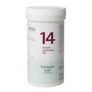 Schüssler salze Pflüger nr 14 Kalium Bromatum D6 400 Tablet glutenfrei