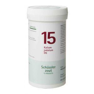 Schüssler salze Pflüger nr 15 Kalium Jodatum D6 400 Tablet glutenfrei