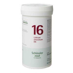 Schüssler salze Pflüger nr 16 Lithium chloratum D6 400 Tablet glutenfrei