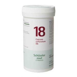 Schüssler salze Pflüger nr 18 Calcium Sulfuratum D6 400 Tablet glutenfrei