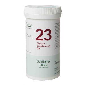 Schüssler salze Pflüger nr 23 Natrium Bicarbonicum D6 400 Tabletten Glutenfrei