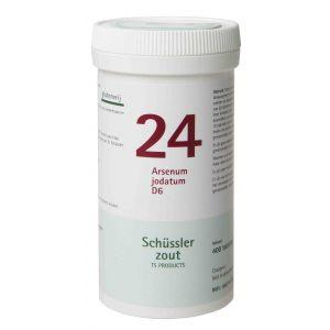Schüssler salze Pflüger nr 24 Arsenum Jodatum D6 400 Tablet glutenfrei