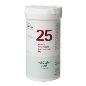 Schüssler salze Pflüger nr 25 Aurum chloratum natronatum D6 400 Tablet glutenfrei