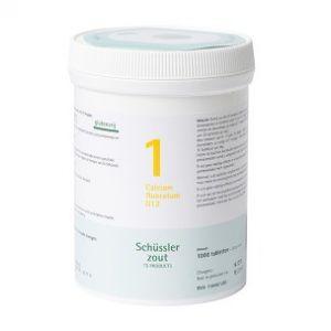 Schüssler salze Pflüger nr 1 Calcium fluoratum D12 1000 Tableten glutenfrei