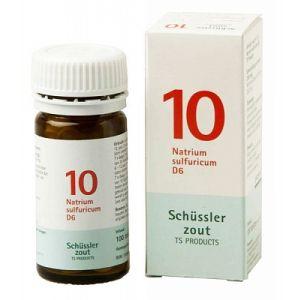 Schüssler salze Pflüger nr 10 Natrium Sulfuricum D6 100 Tablet glutenfrei