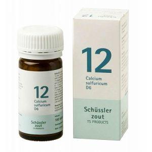 Schüssler salze Pflüger nr 12 Calcium Sulfuricum D6 100 Tablet glutenfrei