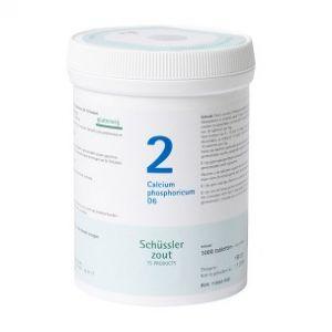 Schüssler salze Pflüger nr 2 Calcium Phosphoricum D6 1000 Tabletten Glutenfrei