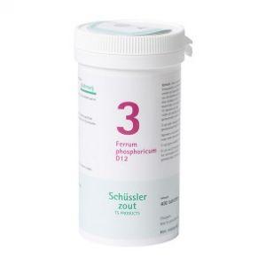 Schüssler salze Pflüger nr 3 Ferrum Phosphoricum D12 400 Tablet glutenfrei