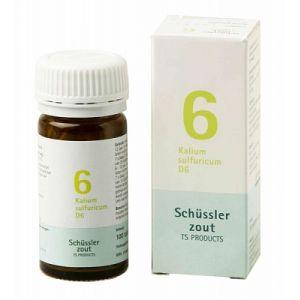 Schüssler salze Pflüger nr 6 Kalium Sulfuricum D6 100 Tablet glutenfrei
