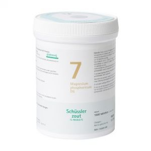 Schüssler salze Pflüger nr 7 Magnesium Phophoricum D6 1000 Tablet glutenfrei