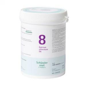 Schüssler salze Pflüger nr 8 Natrium Chloratum D6 1000 Tablet glutenfrei