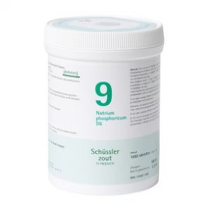 Schüssler salze Pflüger nr 9 Natrium Phosphoricum D6 1000 Tablet glutenfrei