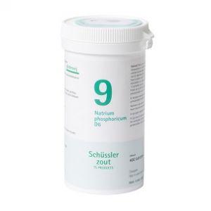 Schüssler salze Pflüger nr 9 Natrium Phosphoricum D6 400 Tablet glutenfrei