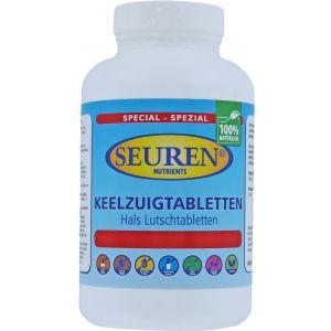 Seuren Nutrients Hals lutsch tabletten 60 Tabletten