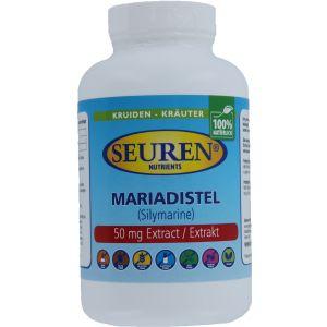 Seuren Nutrients Mariendistel 600 mg 100 Kapseln
