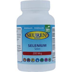 Seuren Nutrients Selen (Selenium) 200 mcg 200 Tabletten