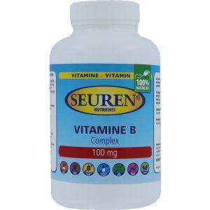 Seuren Nutrients Vitamin B Complex 100 mg 200 Tabletten