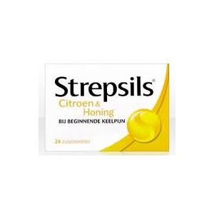 Strepsils Lemon & Honig 24 Lutschtabletten