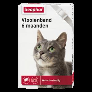 Beaphar Katzen Zecken-Flohband weiß