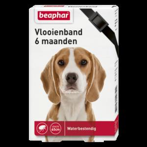 Beaphar Ungezieferband für Hunde, schwarz 65 cm